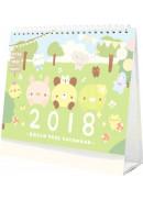 2018麵包樹 有你真好幸運桌曆