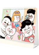 2018 Lu's桌曆各種玩法