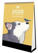 紐約狗狗2020桌曆